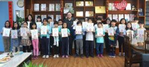 109學年度第二學期3月天母好兒童頒獎代表照片
